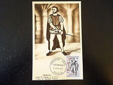 FRANCE PREMIER JOUR FDC YVERT  944  HERNANI   18F   PARIS  1953