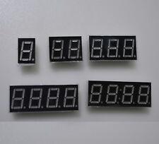 DISPLAY 7 SEGMENTI ROSSO 0,56 pollici anodo comune da 1 a 4 digit
