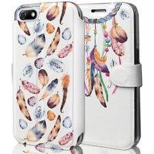 Mobiwear Book Style Handy Motiv Tasche Flip Case Hülle Cover Huawei Honor 7S