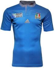 Genuine Coppa del Mondo di Rugby Adidas 2015 F. I.R ITALIA JUNIOR JERSEY (S92330)