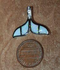 jewelry Whale Tale cocktail drop fire opal earrings pendant gemstone silver