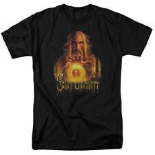 The Lord of The Rings Movie Saruman Sauron Palantir Adult T-Shirt Tee