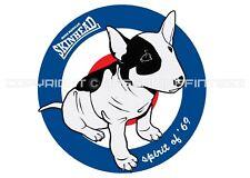 SKINHEAD BULL TERRIER t-shirt. RETRO. SKA. MADNESS. THE SELECTER. THE BEAT.
