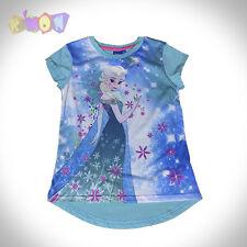 9852 Camiseta FROZEN azul