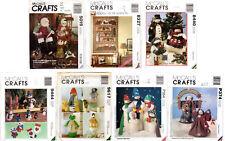 CHOICE: UNCUT McCall's Crafts Sewing Patterns Christmas & Seasonal Decorations