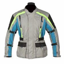 Spada moto tessile giacca Turini Silver