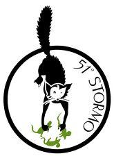 51° STORMO CACCIA (A.M.I.)-Stickers Adesivo Collezionismo (Araldica-Militaria)
