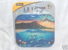 Fellowes Art Impression Mouse Pad Designer Diamond Head Mountain and Ocean