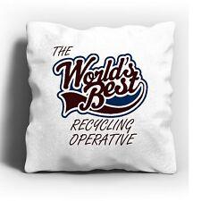 Los mundos Mejor Cojín operativo de reciclaje
