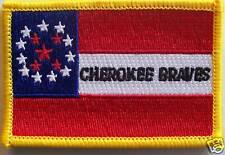 CHEROKEE BRAVES PATCH - CSA - CIVIL WAR CONFEDERATE CHEROKEE DIVISION