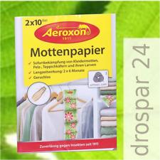 Aeroxon Mottenpapier Mottenstreifen Kleidermotten geruchlos 1-6 Packungen #GB