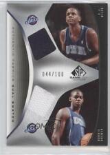2006-07 SP Game Used Edition #AFD-BM CJ Miles Ronnie Brewer Utah Jazz C.J. Card