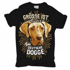 T-Shirt Deutsche Dogge größe ist alles hund hunde dog dogs haustier zucht welpen