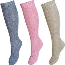 Ladies Long Thick Wool Thermal Boot Walking Hiking Skiing Winter Warm Welly Sock