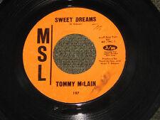 Tommy McLain, Sweet Dreams/I Need You So