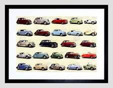 Pubblicità prodotti dell'industria automobilistica Britannica MOTOR Framed Art Print b12x11059