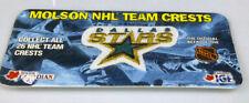 Dallas Stars Molson Beer hockey logo patch