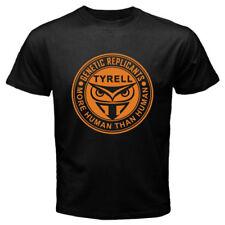 New Blade Runner Tyrell Corp Retro Movie Logo Men's Black T-Shirt Size S-3XL