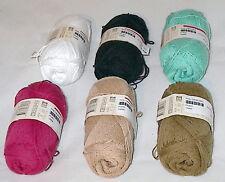 Phildar Phil Crochet 100% Cotton Yarn Color Choice Loom Knit Crochet Free Ship