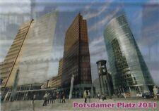 3 -D - Wackelkarte: Berlin - Potsdamer Platz 1961 mit Berliner Mauer, 2011 ohne