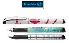 SCHNEIDER GLAM FOUNTAIN PEN-BUTTON, EYE & BOW DESIGNED-FINE NIB- MADE IN GERMANY
