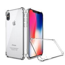 Ultra Clear Transparent TPU 360 Anti Shock Case for iPhone 6 6s 7 8 Plus X 10
