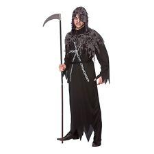 Mens Zombie Reaper Fancy Dress Costume for TWD Halloween Living Walking Dead Cos