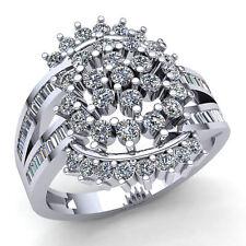 Real 1carat Princess Cut Diamond Ladies Bridal Fancy Engagement Ring 10K Gold