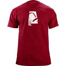 Distressed Alabama University Football T-Shirt