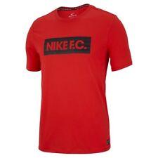 Nike F.C. Dri-Fit Men's Soccer T-Shirt Red Ah9661 696