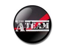 A-TEAM 25 or 38mm button badge / fridge magnet Van design, bullet holes