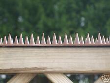 2x Fence wall spikey strips anti-burglar stop intruders