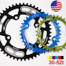 30-52T 104BCD CNC Aluminum alloy Narrow Wide MTB Road Bike Chainring Crank set