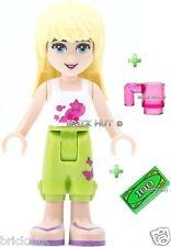 LEGO Friends-Stephanie figura + GRATIS Coppa & $100 Bill-VELOCE-MIGLIOR PREZZO-NUOVO