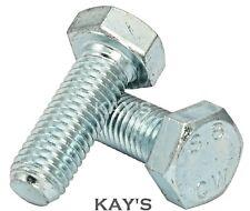 Kay/'s M4 Set Viti a testa esagonale interamente filettato Metrico Bulloni A2 acciaio inox