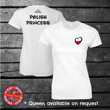 Polish Princess Disney Inspired T-shirt, Poland, Eurovision, Ladies, Kids