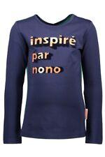 %%% ✿ NONO ✿ Mädchen Girls Shirt Wendeshirt KEIRA navy blazer Gr.122-164 ✿ 5406