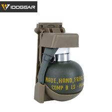IDOGEAR Grenade Model Dummy Cache w/ Base Molle System Vest Stun Military Army