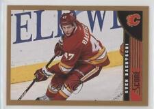 2013-14 Score Gold #62 Sven Baertschi Calgary Flames Hockey Card