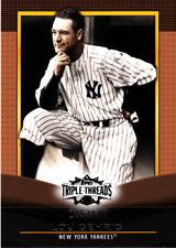 2011 Topps Triple Threads Sepia Baseball Card Pick