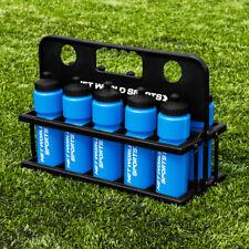 10 Water Bottles & Carrier - RANGE OF COLOURS - BPA Free Plastic 750ml Bottle