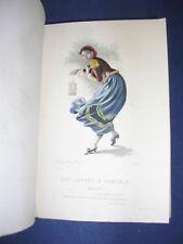 Rare Scarron gravures couleurs / holllande 1879 arménie