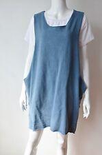 CAD13 - Robe Large Unie sans Manches Ouverte sur les Côtés - Mode Femme