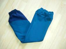 Softshellhose, petrol mit nachtblau  gerades Bein Matschhose handmade
