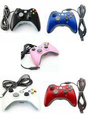 USB Console Wired Gamepad Controller Joypad For Microsoft XBOX 360 Windows 7 PC