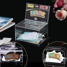 Büro Visitenkarte Box Visitenkartenhalter Schreibtisch Karte Aufbewahrungsbox