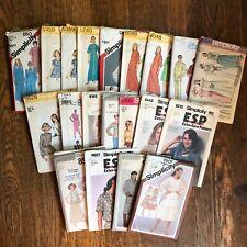 Simplicity VINTAGE 70s 80s Patterns Womens UNCUT Your Choice Size 12-14-16
