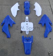 Chinese Dirt Pit Bike Fairing Body Shell Parts COOLSTER QG-210 QG-210-E 70cc BLU