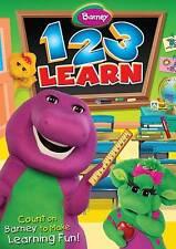 Barney: 1-2-3 Learn (DVD, 2011)  BRAND NEW