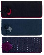 NEW Ruby Shoo Budapest Clutch Bag Black / Purple / Blue ( Samira )